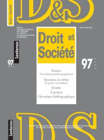 Revue Droit et Société, 2017 N°97