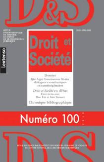 Revue Droit et Société, 2018 N°100