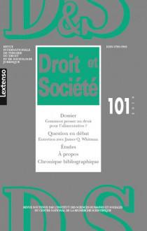 Revue Droit et Société, 2019 N°101