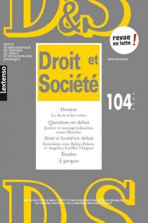 Revue Droit et Société, 2020 N°104