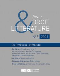 Revue Droit & Littérature N°5-2021