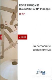 Revue française d'administration publique 2011 N°137-138
