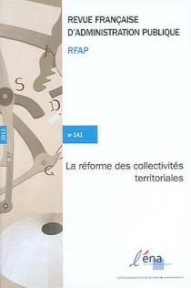 Revue Française d'Administration Publique, 2012 N°141