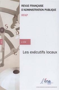 Revue française d'administration publique, 2015 N°154