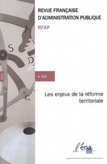 Revue française d'administration publique, 2015 N°156