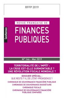 Revue Française de Finances Publiques, 2019 N°146