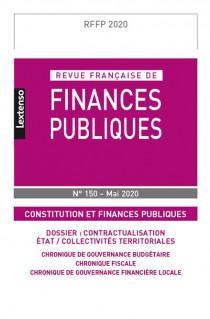 Revue Française de Finances Publiques N°150 - Mai 2020
