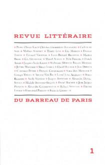 Revue littéraire du barreau de Paris N°1