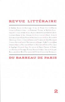 Revue littéraire du barreau de Paris N°2