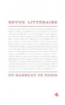 Revue littéraire du barreau de Paris N°4