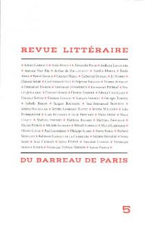 Revue littéraire du barreau de Paris N°5