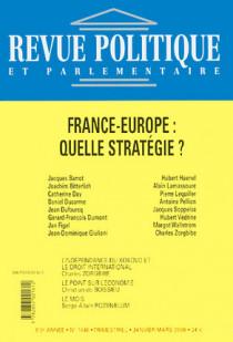 Revue politique et parlementaire, 110e année, janvier-mars 2008 N°1046