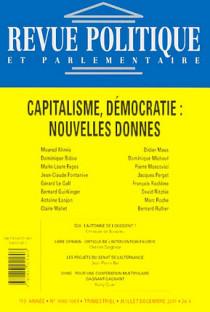 Revue politique et parlementaire, 113e année, juillet-décembre 2011 N°1060-1061