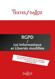 RGPD / Loi Informatique et Libertés modifiée