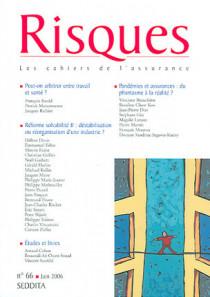 Risques, juin 2006 N°66
