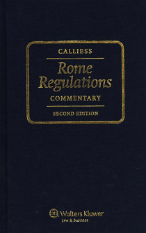 Rome Regulations Commentary