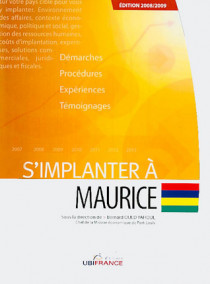 S'implanter à Maurice - Edition 2008-2009