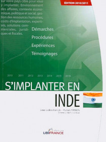 S'implanter en Inde - Edition 2010-2011