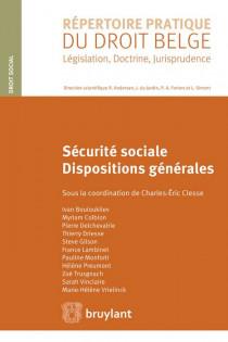 Sécurité sociale - Dispositions générales