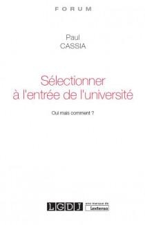 [EBOOK] Sélectionner à l'entrée de l'université