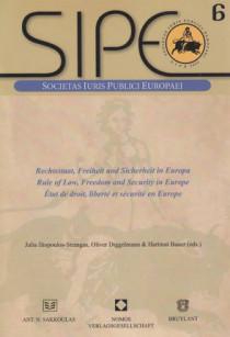 SIPE - État de droit, liberté et sécurité en Europe