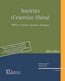 Sociétés d'exercice libéral (SEL) 2012-2013