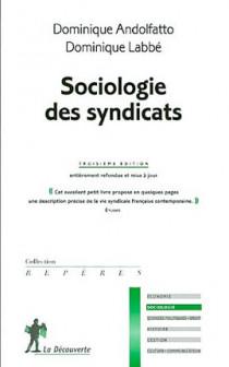 Sociologie des syndicats