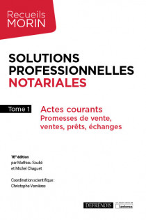 Solutions professionnelles notariales