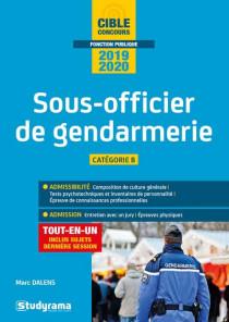 Sous-officier de gendarmerie 2019-2020