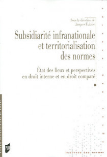 Subsidiarité infranationale et territorialisation des normes