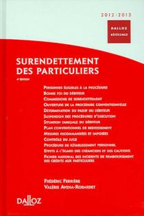 Surendettement des particuliers 2012-2013