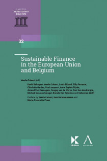 Sustainable Finance in the European Union and Belgium
