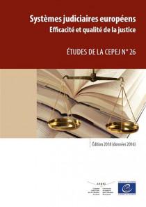 Systèmes judiciaires européens - Edition 2018 (données 2016)