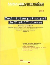 Technicien principal de 2e et de 1re classe 2019