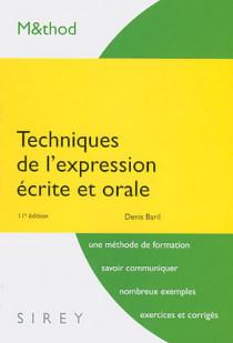 Techniques de l'expression écrite et orale