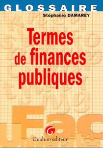 Termes de finances publiques