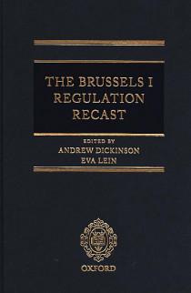 The Brussels I Regulation Recast