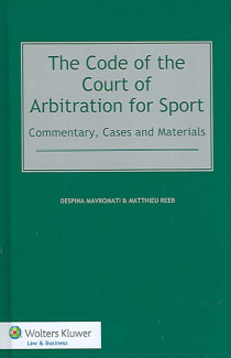 The Code of the Court of Arbitration for Sport