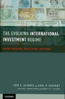 The evolving international investment regime