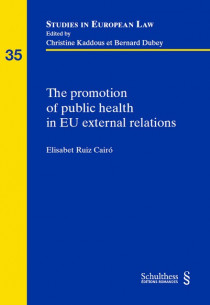 The promotion of public health in EU external relations