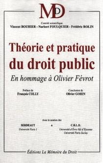 Théorie et pratique du droit public