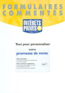 Tout pour personnaliser votre promesse de vente (formulaires)