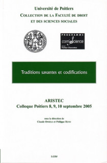 Traditions savantes et codifications