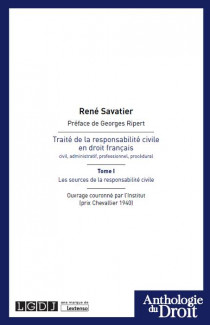 Traité de la responsabilité civile en droit français