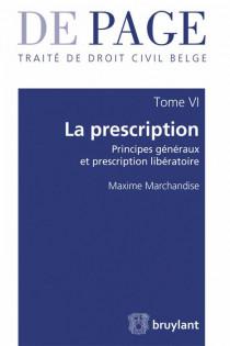 Traité élémentaire de droit civil belge  La prescription