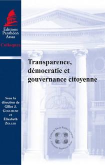 Transparence, démocratie et gouvernance citoyenne