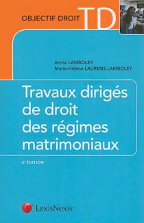 Travaux dirigés de droit des régimes matrimoniaux