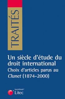 Un siècle d'étude du droit international