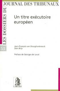 Un titre exécutoire européen N°53