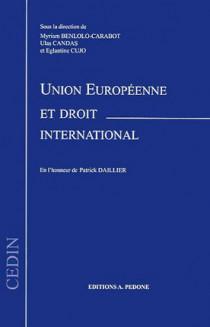 Union européenne et droit international